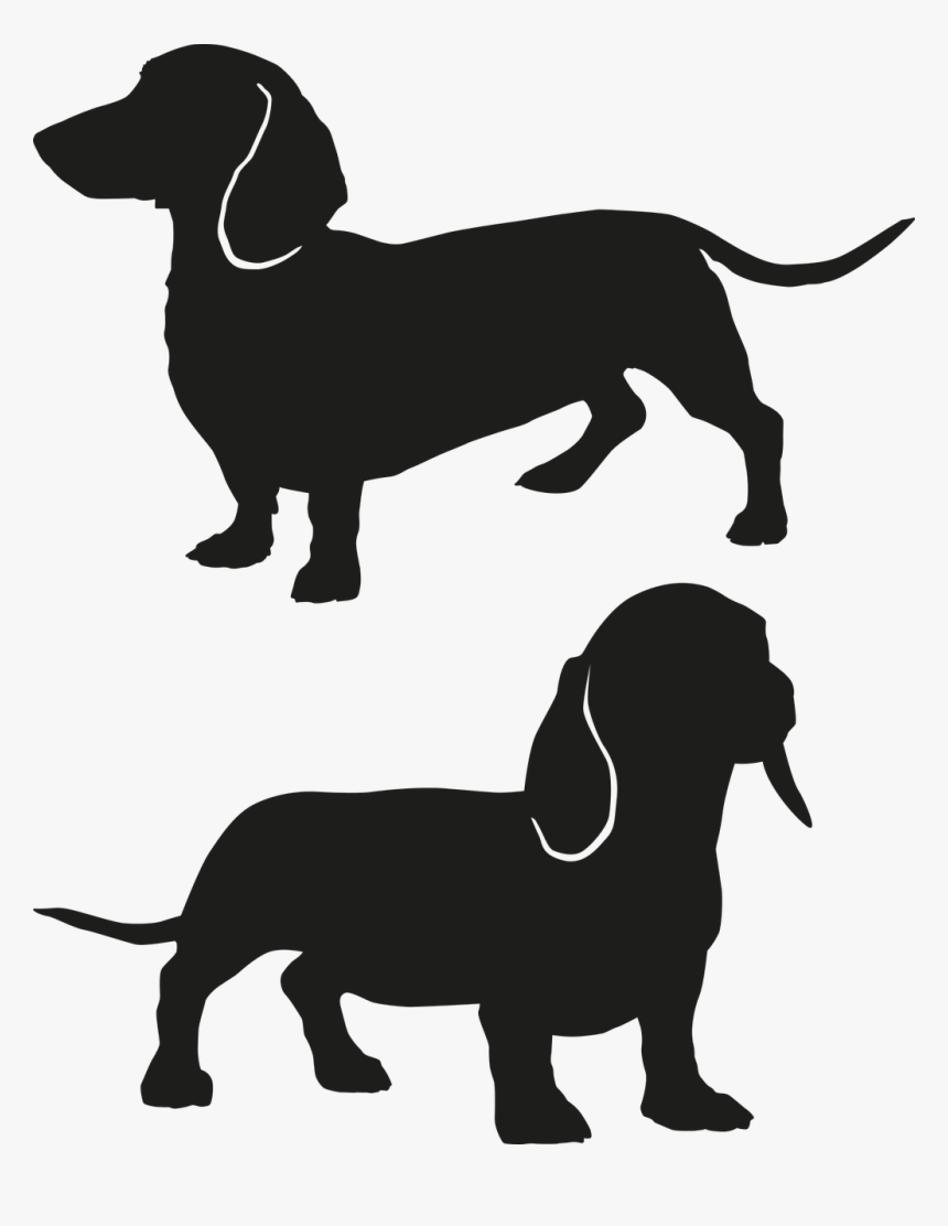 dachshund vector dachshund silhouette at getdrawings free download vector dachshund