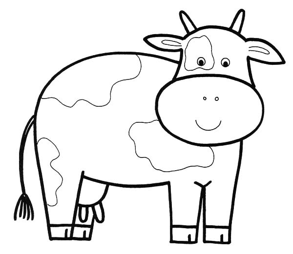 dairy cow coloring pages dairy cow netart dairy pages coloring cow