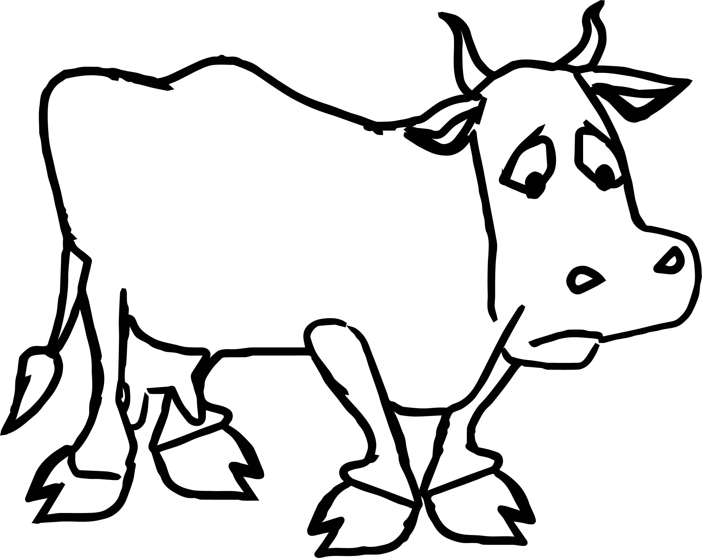 dairy cow coloring pages wholesome dairy cow on the farm animal coloring web page coloring pages dairy cow