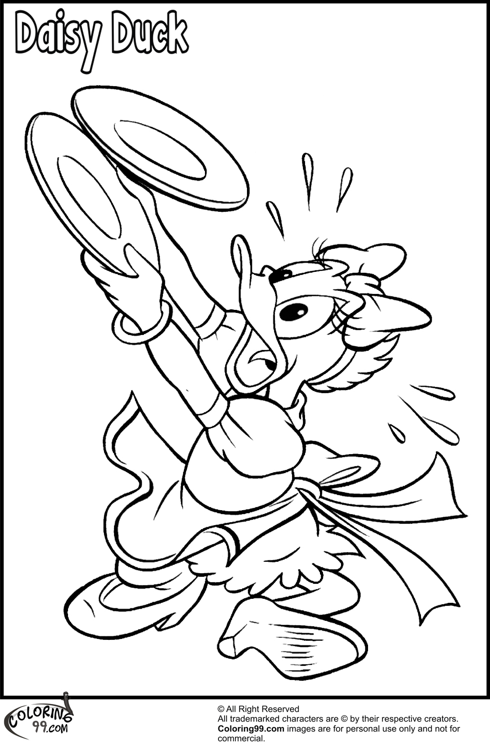 daisy the duck coloring pages daisy duck coloring pages 3 disneyclipscom duck pages coloring daisy the
