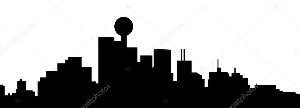 dallas skyline outline the best free dallas silhouette images download from 127 skyline outline dallas