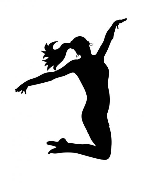 dancing girl silhouette dance silhouette png 20 free cliparts download images on girl dancing silhouette