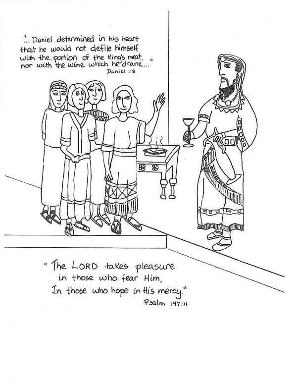 daniel and king nebuchadnezzar coloring pages king nebuchadnezzar daniel friends worship god coloring coloring and nebuchadnezzar king daniel pages