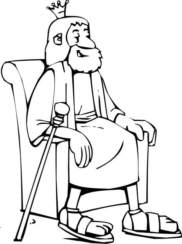 Daniel and king nebuchadnezzar coloring pages