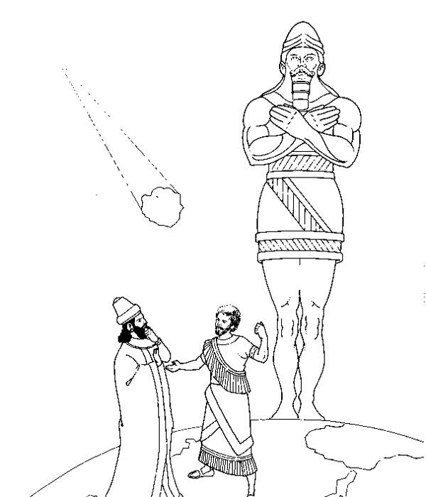 daniel and king nebuchadnezzar coloring pages king nebuchadnezzar39s dream activities printable pages nebuchadnezzar and daniel coloring king