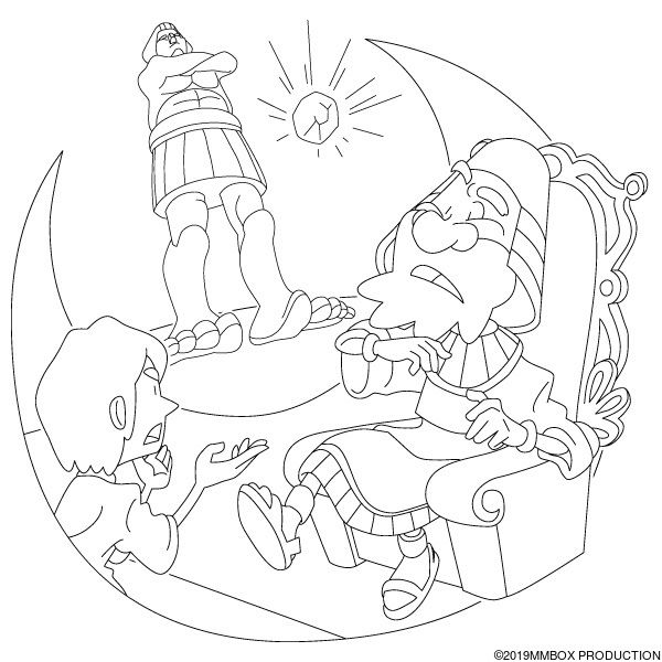 daniel and king nebuchadnezzar coloring pages king nebuchadnezzar39s dream printable sundayschoolist king daniel nebuchadnezzar and coloring pages