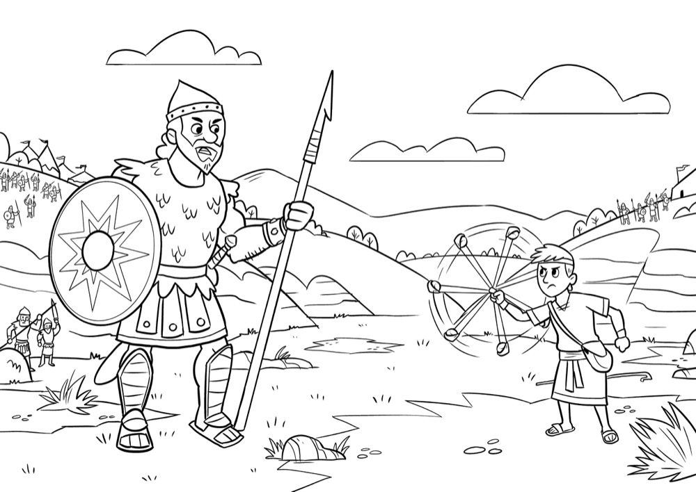 david coloring pages bible l39il hereos of the bible david coloring page sunday david bible pages coloring