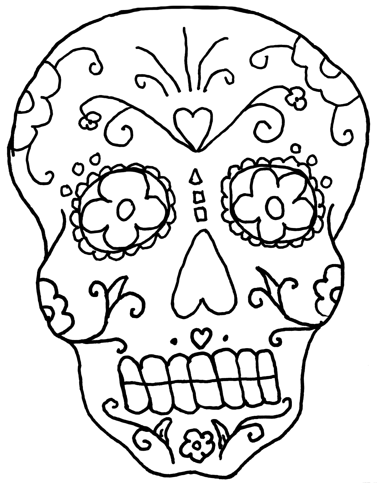 day of the dead coloring pages free printable day of the dead couple pdf coloring page dead of free the coloring pages day
