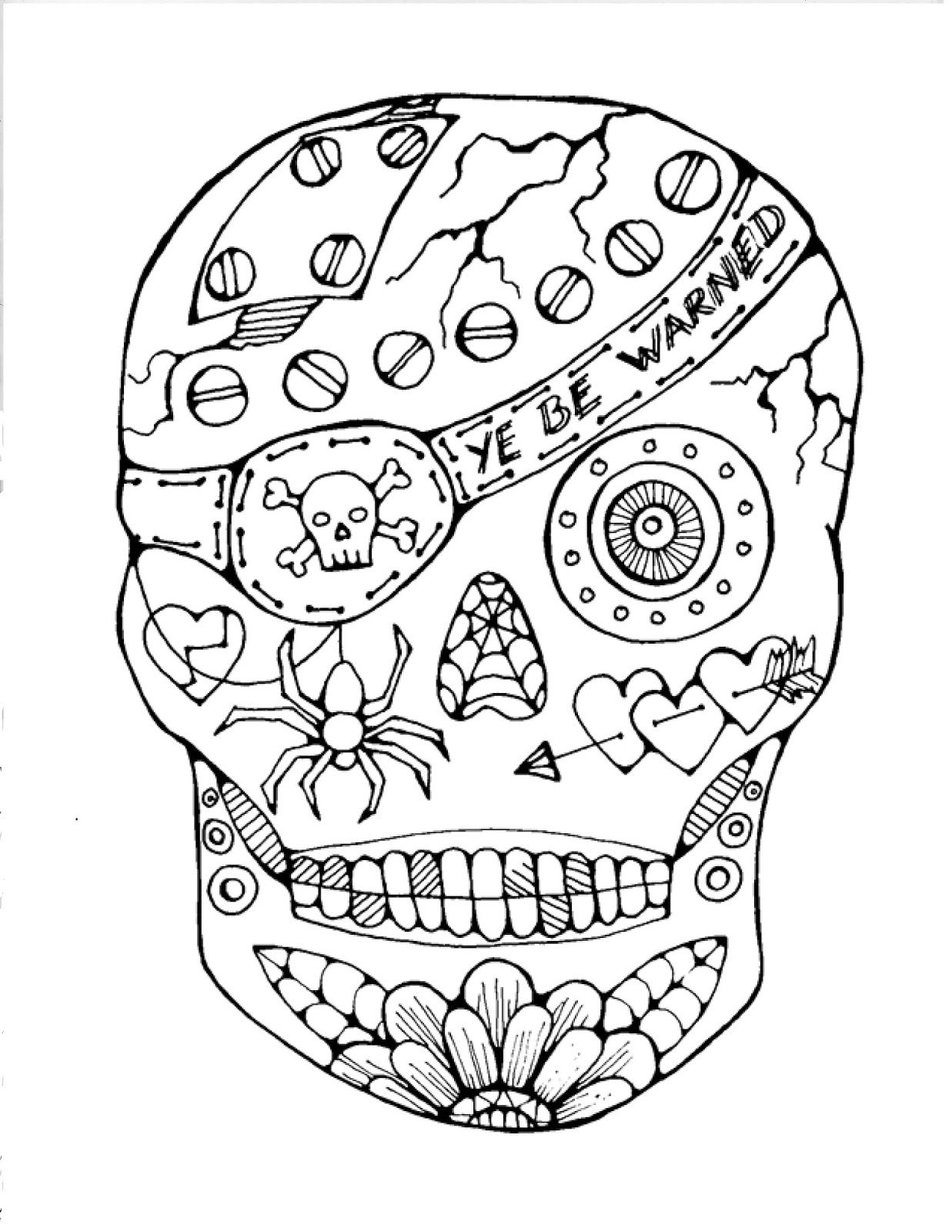 day of the dead coloring pages free sugar skull coloring pages best coloring pages for kids dead coloring free of the pages day