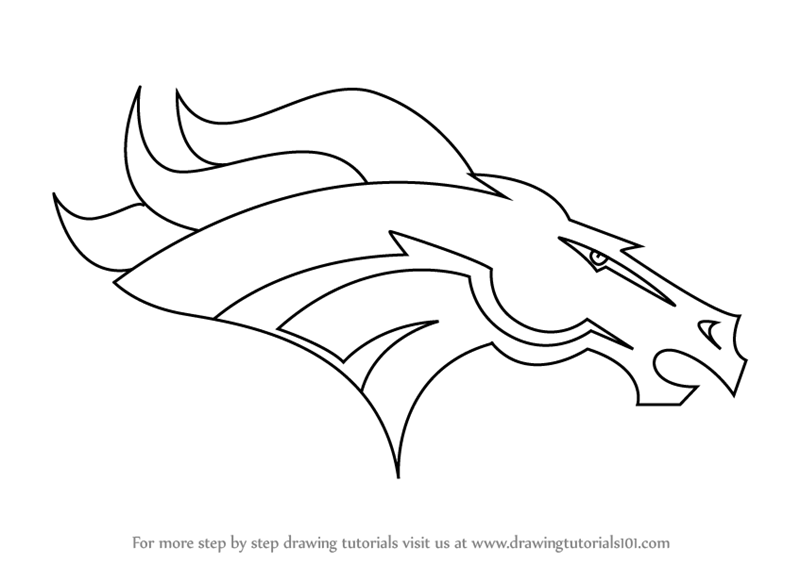 denver broncos logo pictures learn how to draw denver broncos logo nfl step by step broncos logo pictures denver