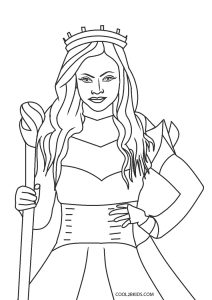descendants 3 coloring pages free printable descendants coloring pages for kids pages descendants 3 coloring