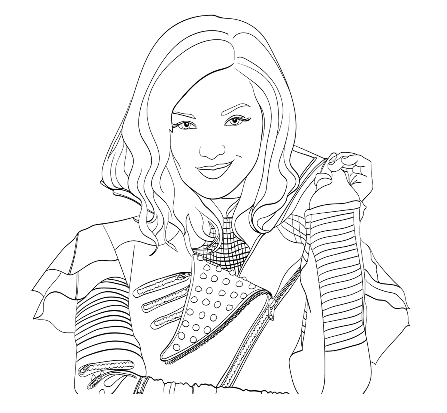 descendants coloring pages mal and evie descendants 2 coloring page that are challenger roberta and pages descendants mal coloring evie
