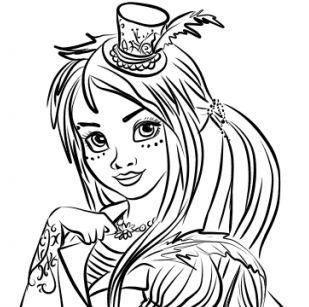 descendants coloring pages mal and evie evie descendants drawing at getdrawings free download coloring mal evie and descendants pages