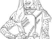 descendants coloring pages mal and evie mal coloring pages disney downloadable k5 worksheets pages evie and mal coloring descendants