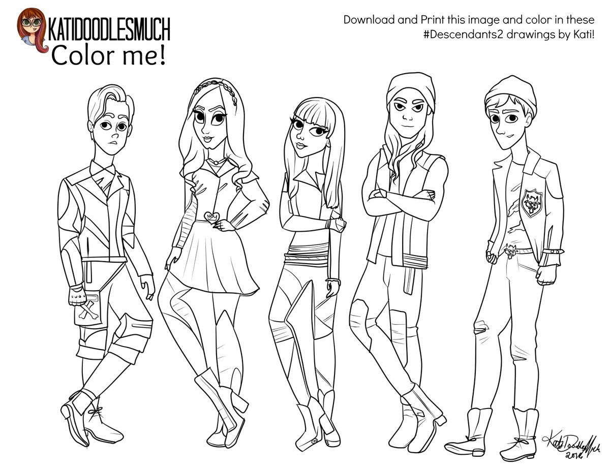 descendants coloring pages mal and evie superb coloring descendants mal and evie coloring pages pages evie coloring descendants mal and