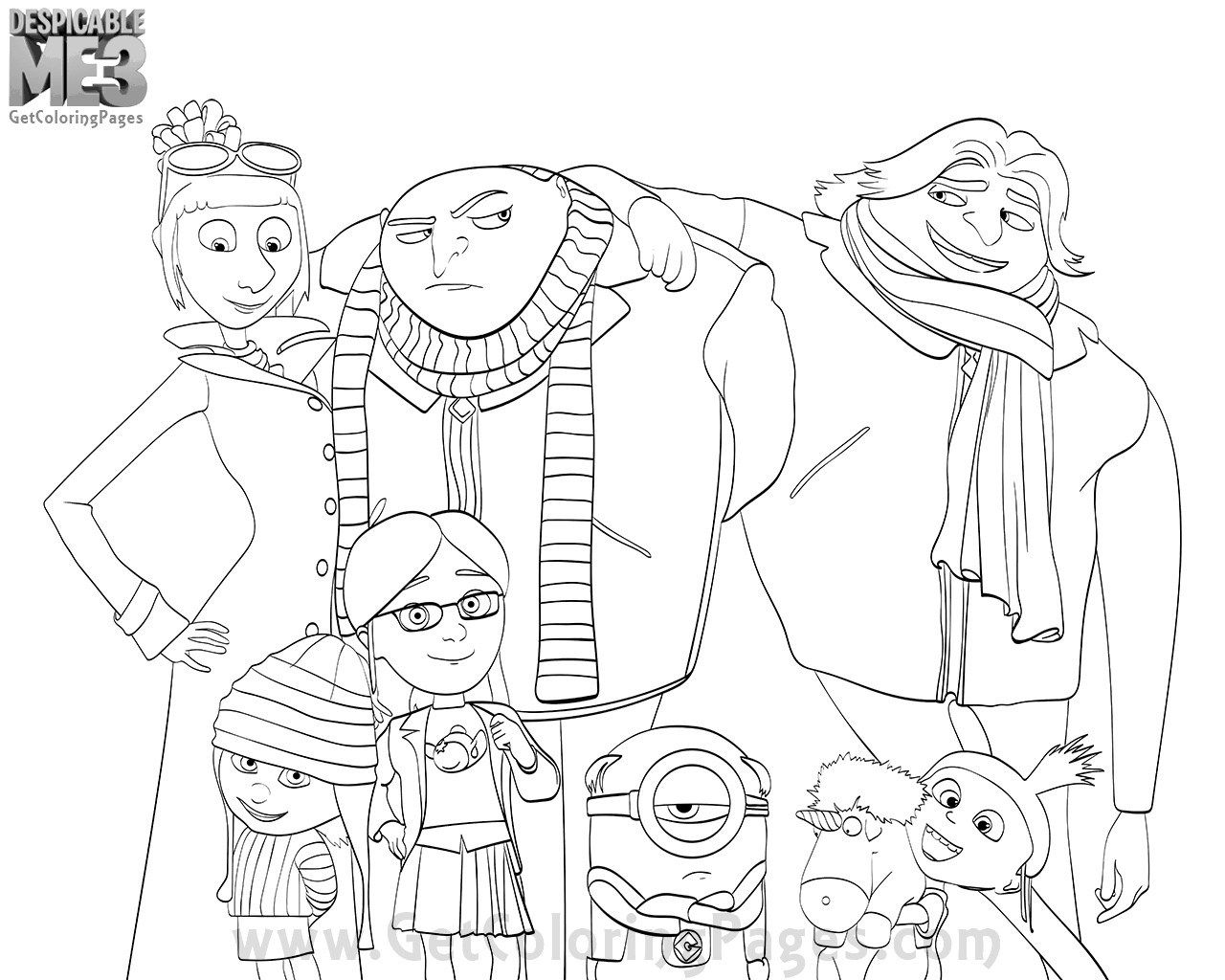 despicable me 3 coloring pages creative photo of despicable me 3 coloring pages pages despicable me 3 coloring