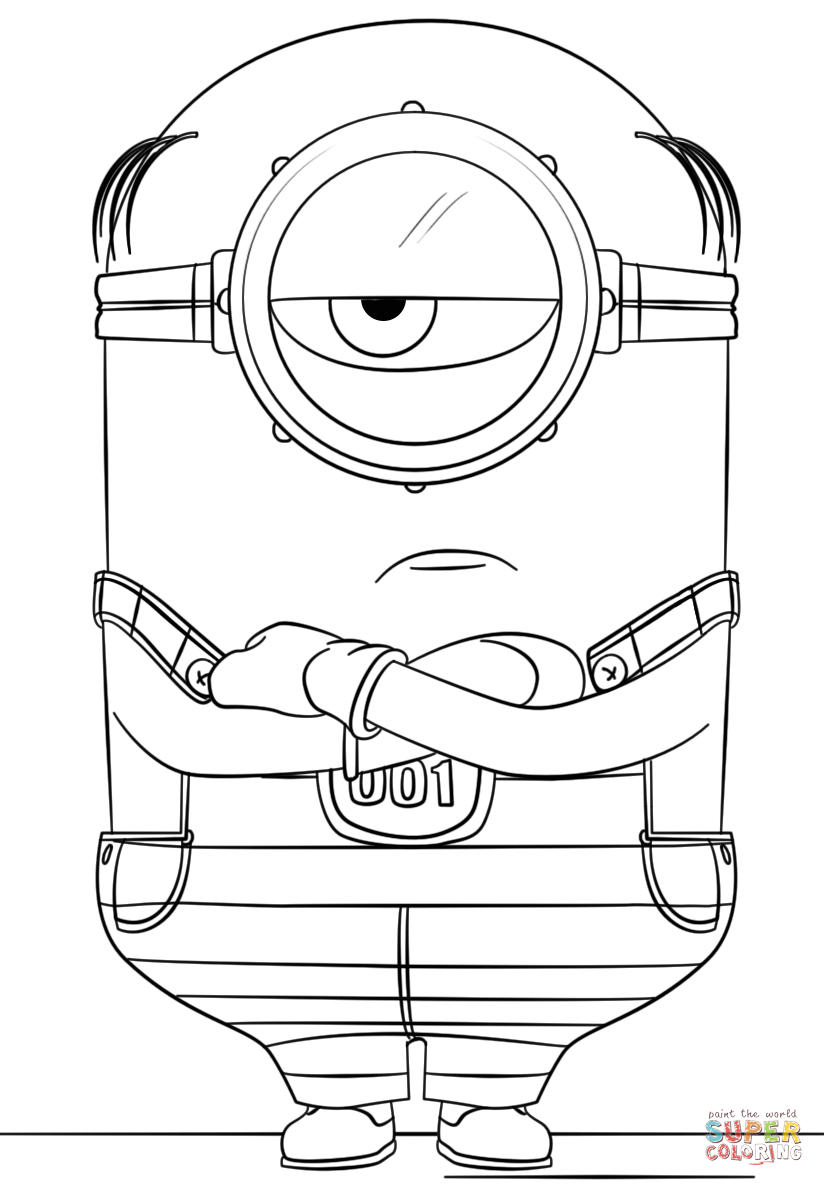 despicable me 3 coloring pages minion mel from despicable me 3 coloring page free despicable coloring pages me 3