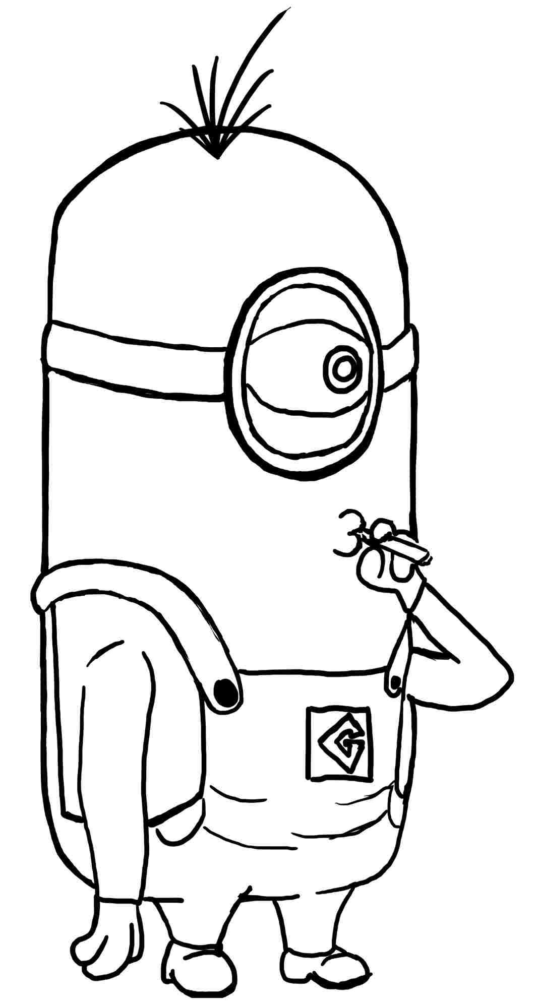 despicable me coloring pictures coloring pages despicable me minion anime movie printable me pictures despicable coloring