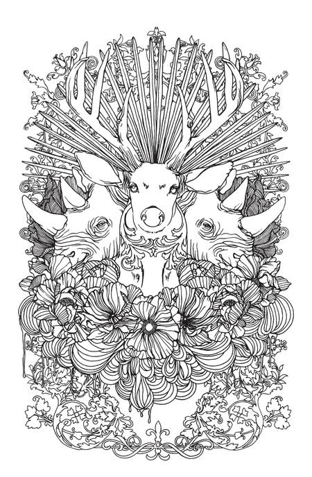detailed animal coloring pages toilet detail drawing at getdrawings free download animal detailed pages coloring