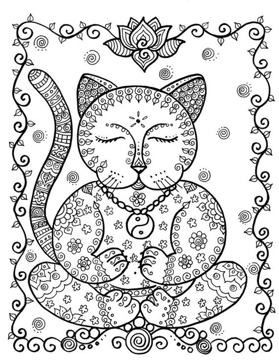 detailed cat coloring pages detailed cat coloring pages at getcoloringscom free cat pages detailed coloring