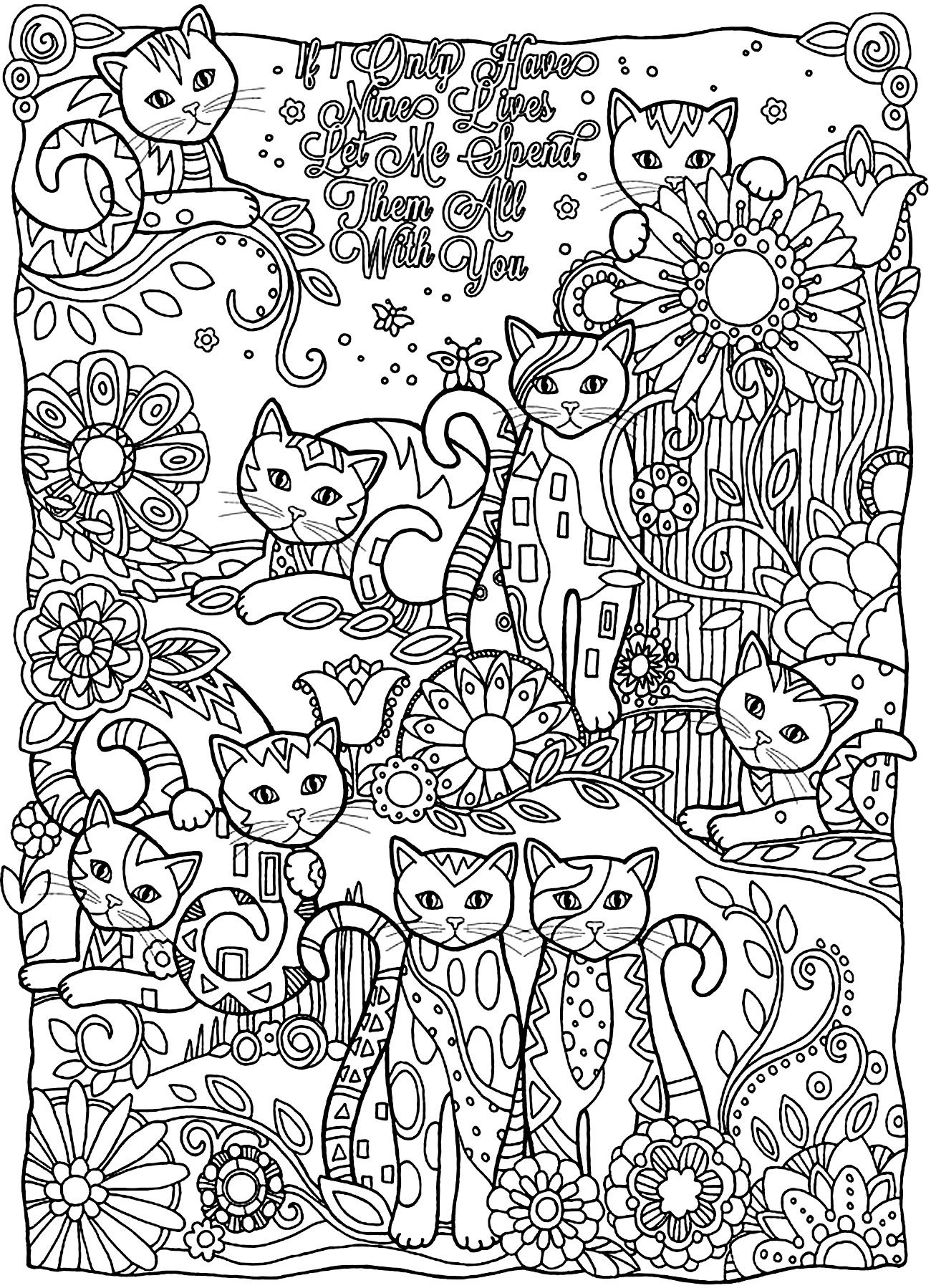 detailed cat coloring pages printable big cat jaguar coloring pages coloring pages coloring cat pages detailed