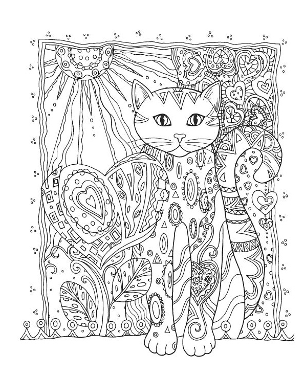 detailed cat coloring pages printable cat coloring pages ideas for kids coloring pages detailed cat