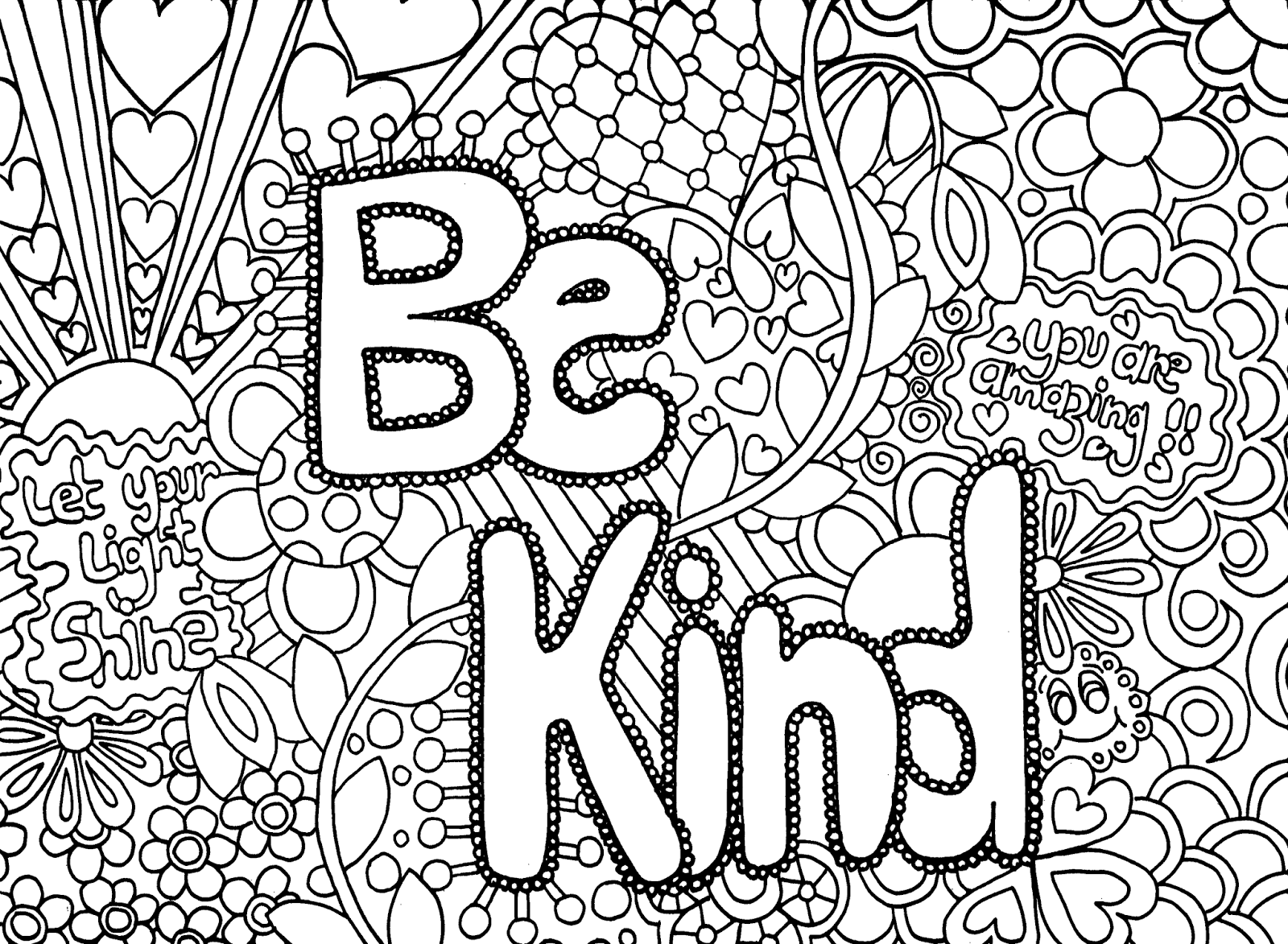 Detailed coloring sheets