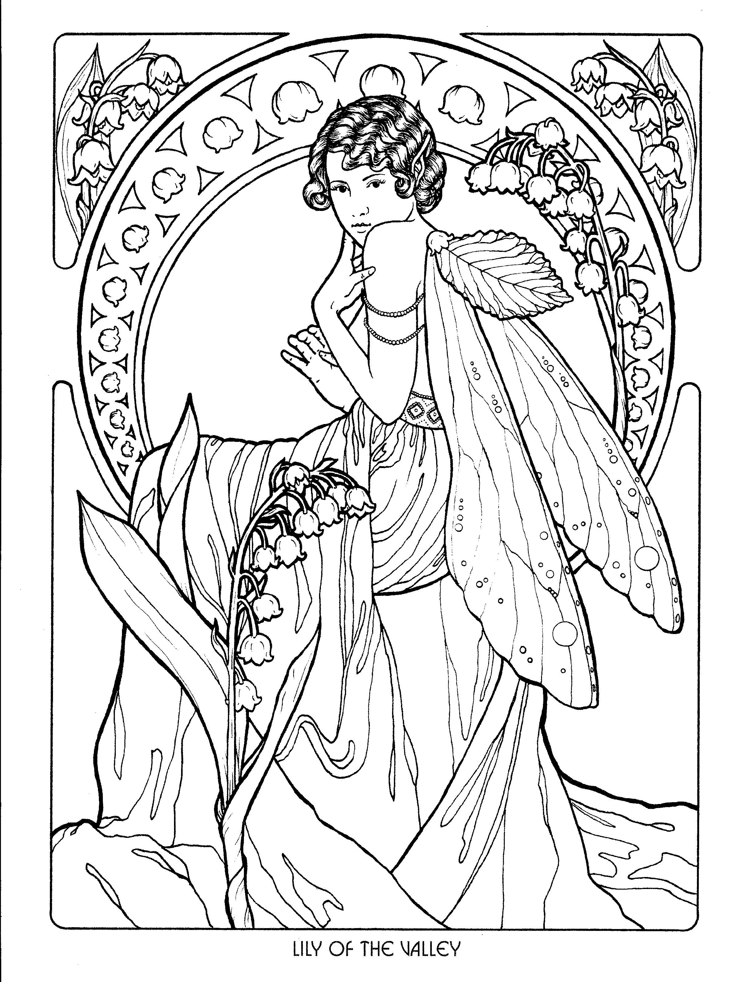 detailed complex fairy coloring pages detailed coloring pages for adults click on the image to complex fairy coloring pages detailed