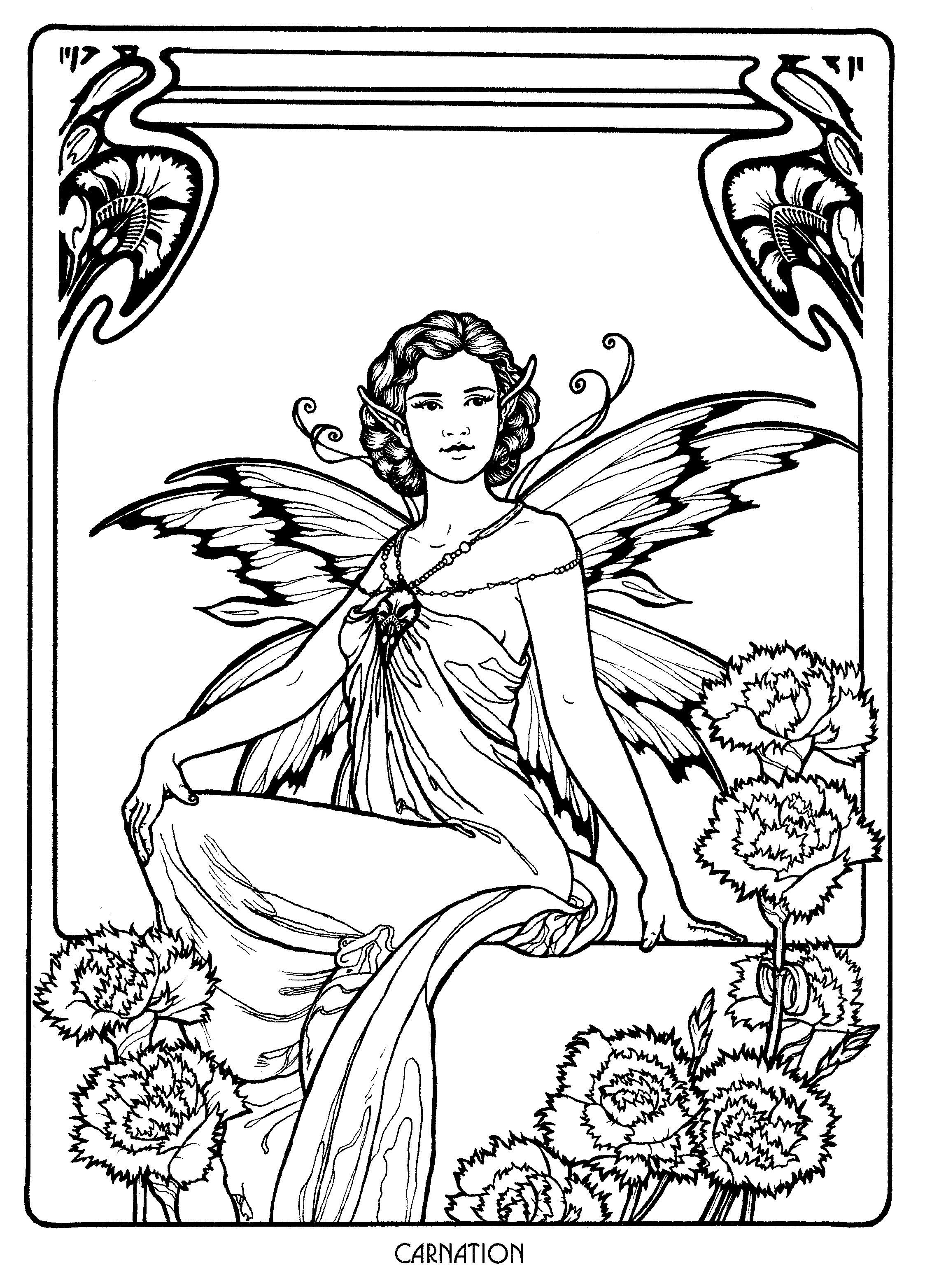 detailed complex fairy coloring pages fairy 28 fairy coloring fairy coloring book fairy pages coloring complex fairy detailed
