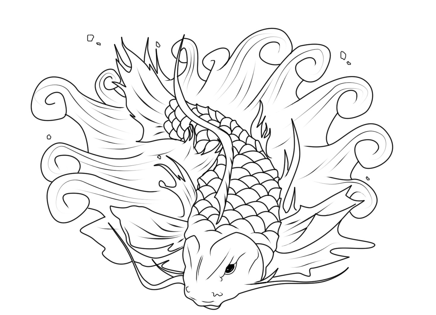 detailed fish coloring pages detailed fish coloring pages coloring home detailed pages fish coloring