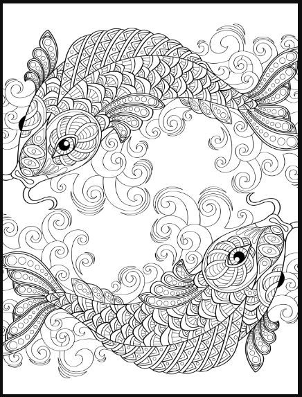 detailed fish coloring pages detailed fish coloring pages coloring home pages coloring detailed fish