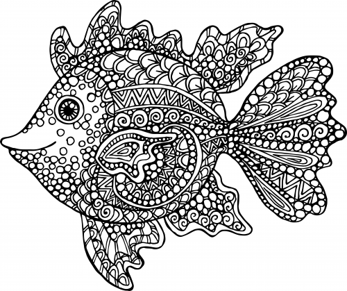 detailed fish coloring pages detailed pages fish coloring pages fish pages coloring detailed