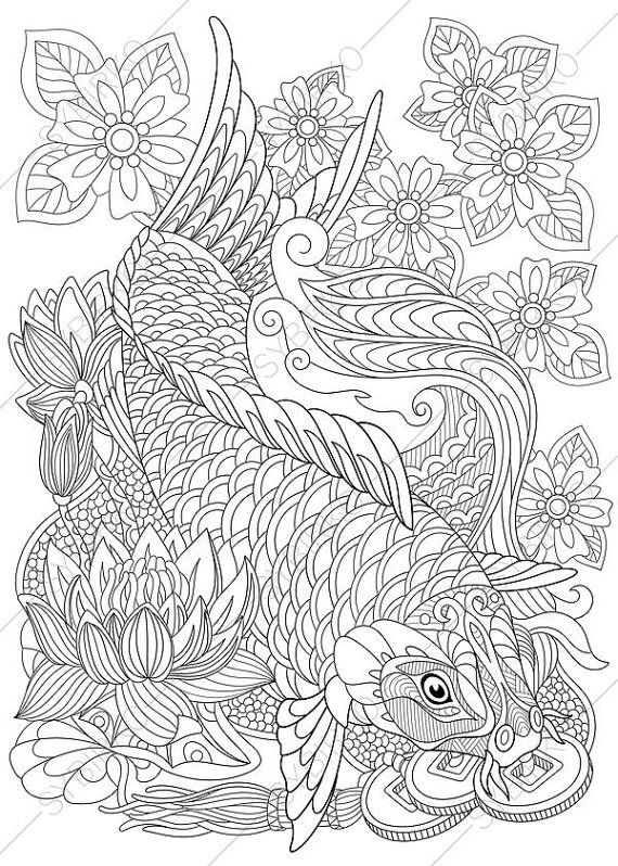 detailed fish coloring pages two northern pikes coloring page coloring pages fish detailed pages coloring fish