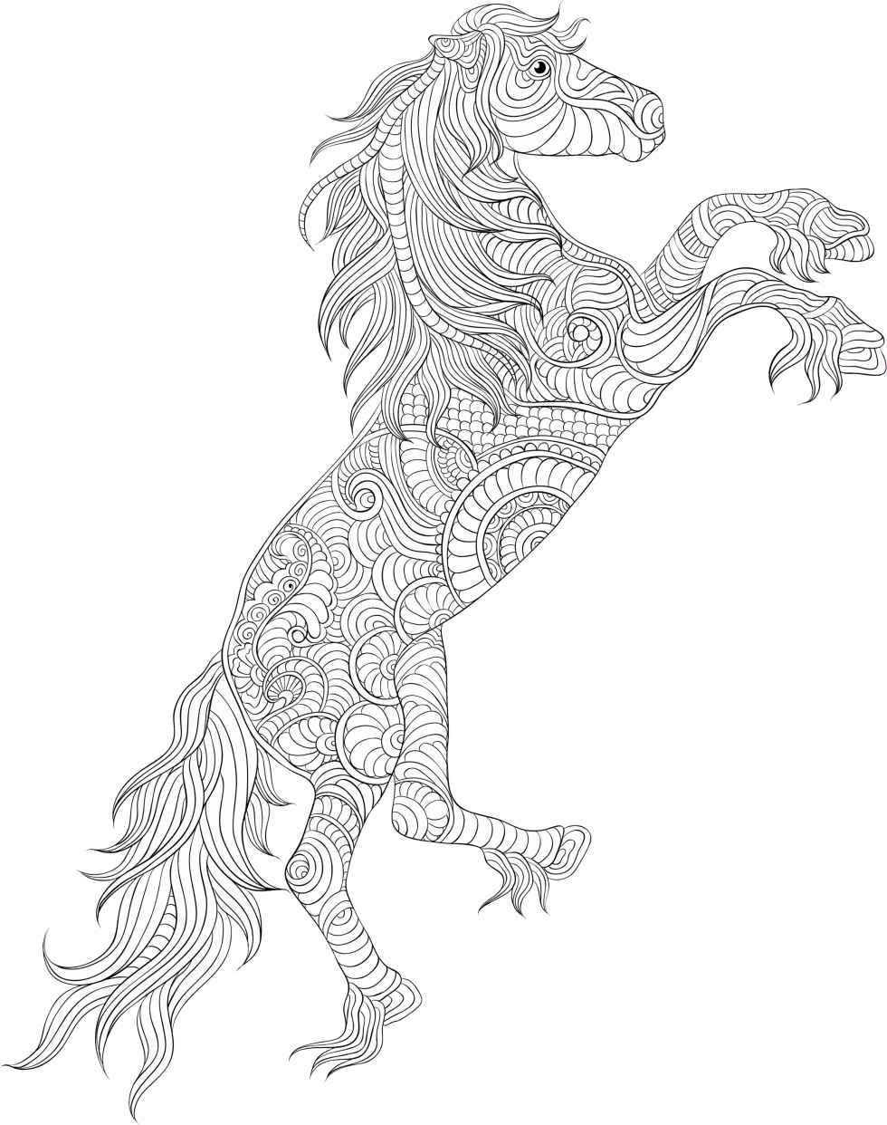 detailed horse coloring pages detailed christmas coloring pages download horse pages coloring detailed horse