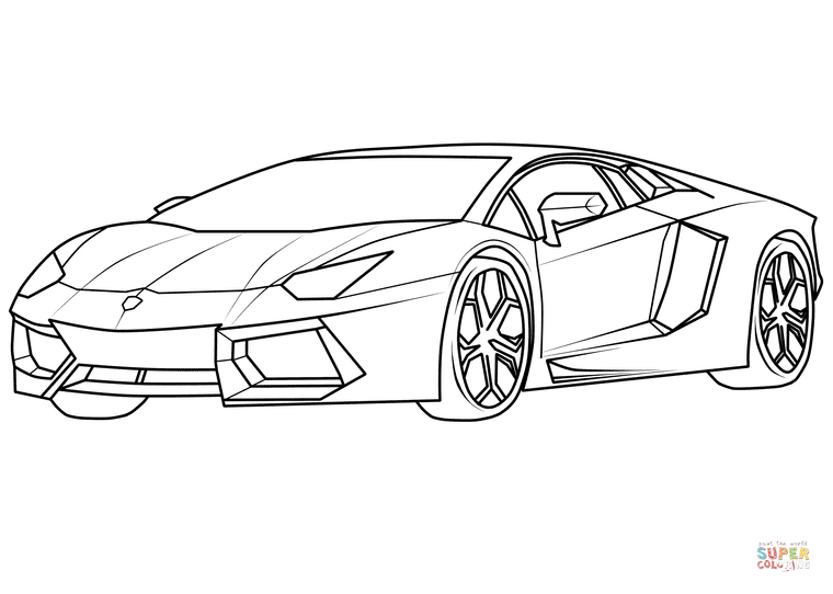 detailed lamborghini coloring pages free lamborghini coloring pages to print download free detailed pages coloring lamborghini