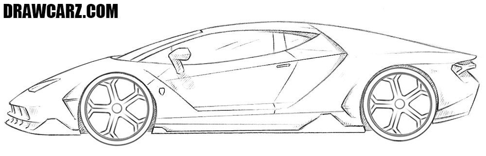 detailed lamborghini coloring pages lamborghini aventador drawing outline free download on detailed pages coloring lamborghini 1 1