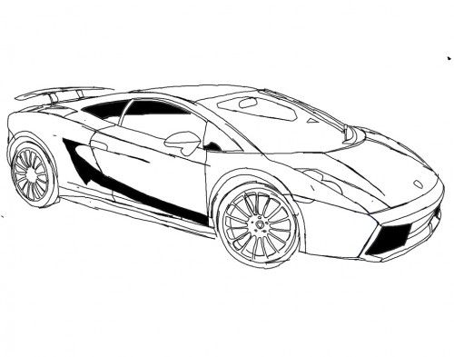 detailed lamborghini coloring pages lamborghini huracan sports car coloring page 34 top view coloring pages lamborghini detailed