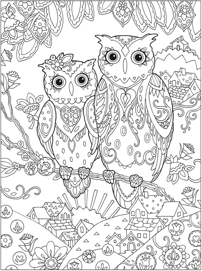 detailed owl coloring pages owl coloring pages for adults free detailed owl coloring detailed coloring pages owl