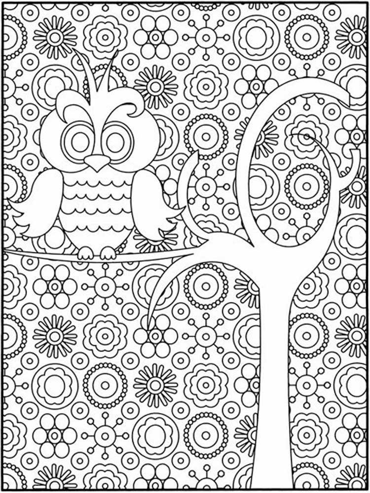 difficult coloring pages for adults 10 difficult owl coloring page for adults pages coloring difficult for adults
