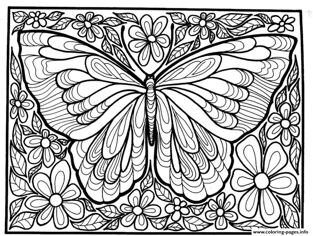difficult coloring pages for adults get this difficult butterfly coloring pages for adults for pages adults coloring difficult
