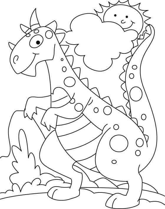 dinosaur color printable dinosaur coloring pages for kids cool2bkids color dinosaur 1 1