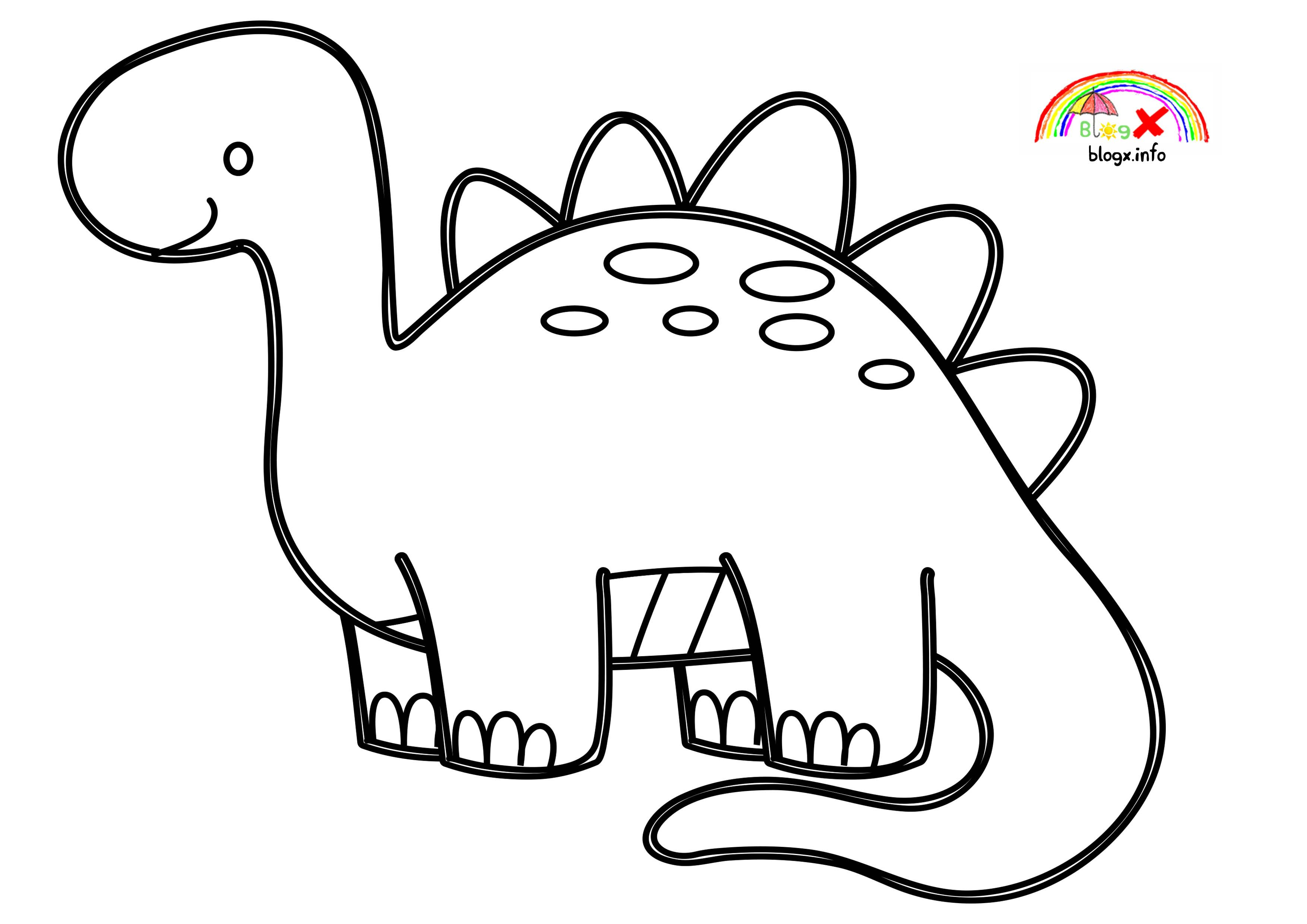dinosaur coloring easy 37 printable dinosaur coloring pages animal pages print easy dinosaur coloring