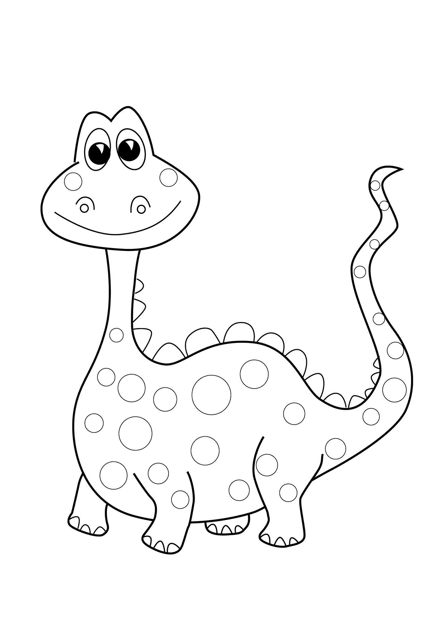 dinosaur coloring easy dinosaur coloring pages updated printable pdf print coloring easy dinosaur