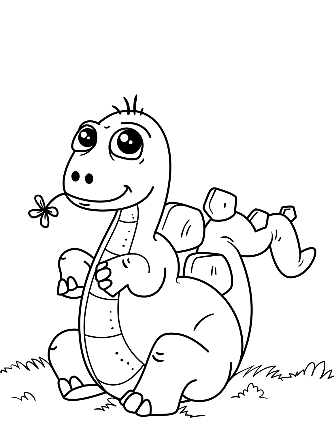 dinosaur coloring easy dinosaurs to color for kids ba dinosaurs kids coloring coloring easy dinosaur