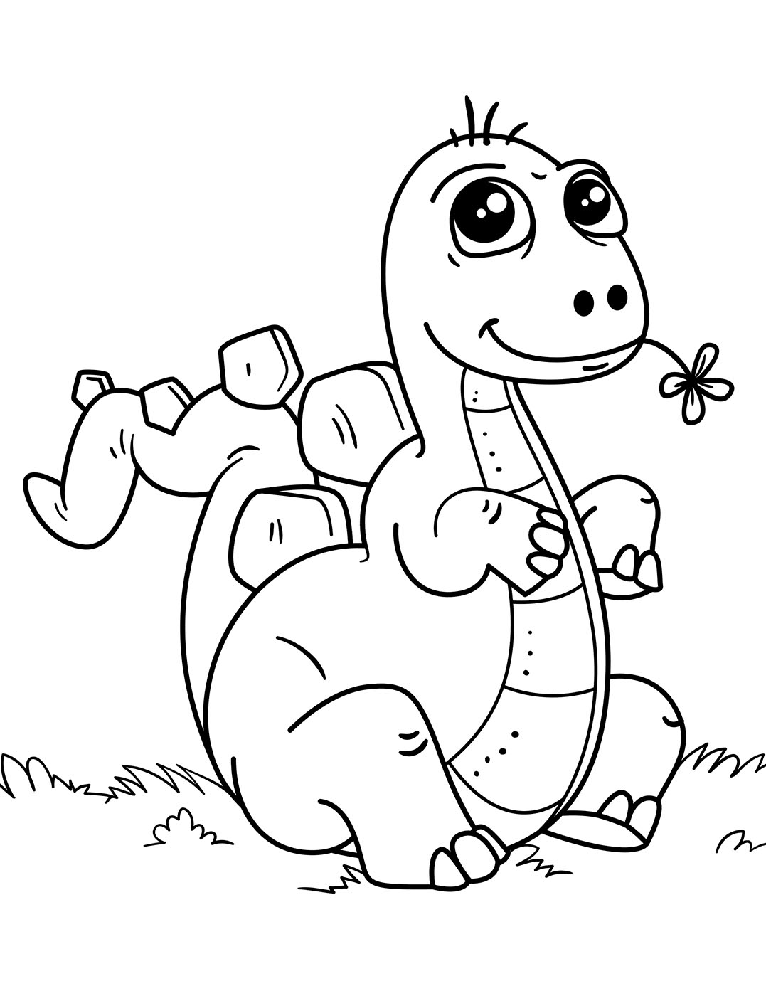 dinosaur coloring easy simple dinosaur coloring pages for kids dinosaur coloring easy