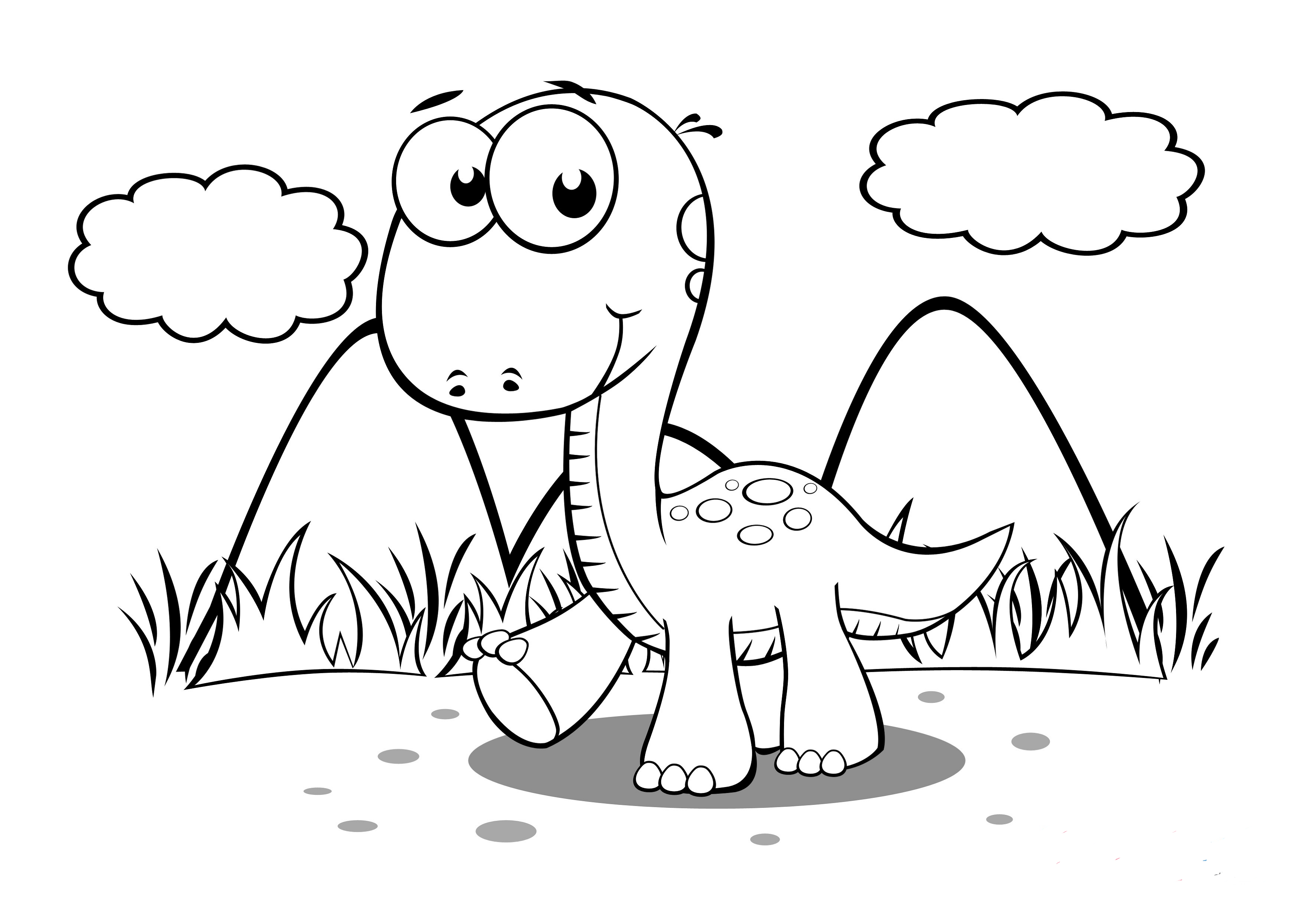 dinosaur coloring worksheets baby dinosaur coloring pages to download and print for free worksheets coloring dinosaur