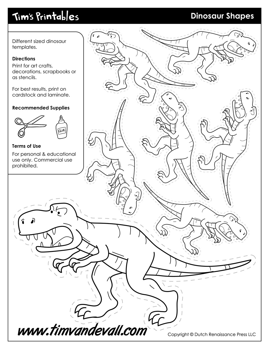 dinosaur templates to print 315 best dinosaurs preschool theme images on pinterest print dinosaur to templates