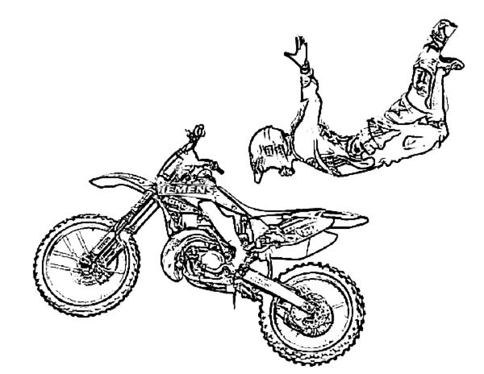 dirt bike pictures to color 10 free dirt bike coloring pages for kids save print dirt pictures bike to color