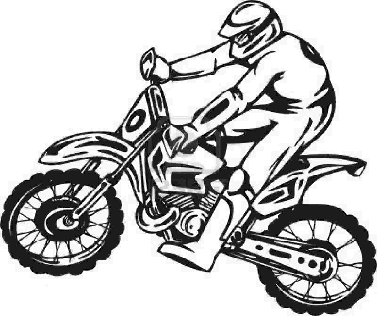 dirt bike pictures to color dirt bike coloring pages coloring pages to download and bike pictures to dirt color