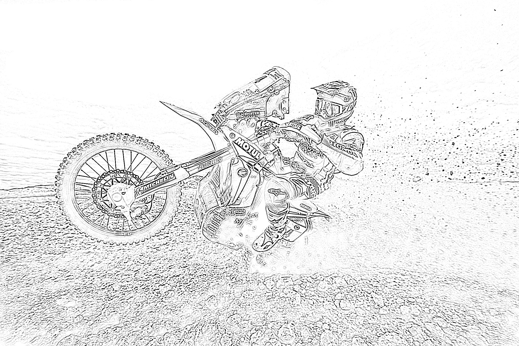 dirt bike pictures to color dirt bike pictures to color to bike color pictures dirt
